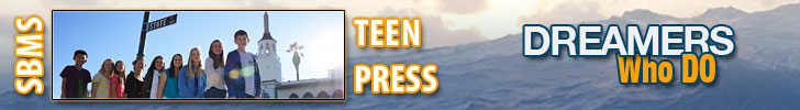 SBMS Teen Press team logo